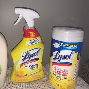Lysol Bundle Cleaning Supply